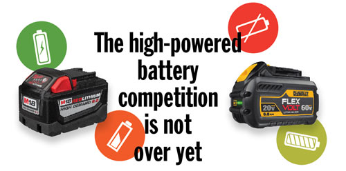 The high-powered battery competition is not over yet