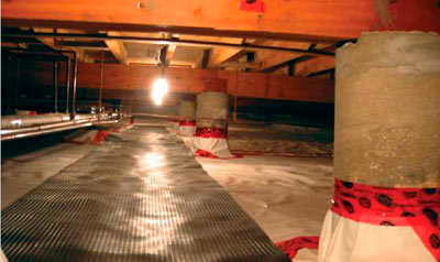 Home builder canada news cmhc gets in your crawl space - Comment isoler vide sanitaire ...